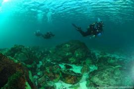 Байкал под водой