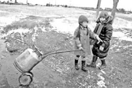 Воду берут с водокачек в Будаговском МО