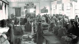 Заростный цех пимокатной фабрики