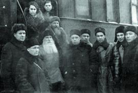 Делегация Иркутской области, возвратившаяся с фронта