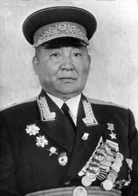 Илья Васильевич Балдынов, Герой Советского Союза, генерал