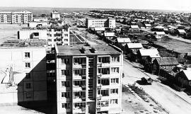Ударная комсомольская стройка в Саянске
