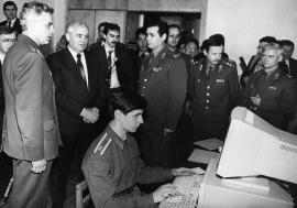 М. Горбачев в Иркутске