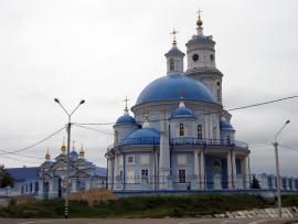 Храм Казанской иконы Божией Матери в поселке Тельма