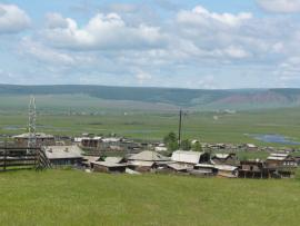 Село Анга Иркутской области