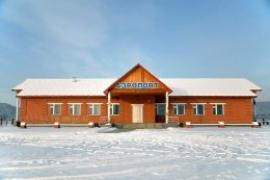 Аэровокзал в Казачинском сохранился