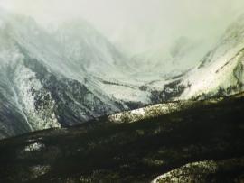 Горы у м. Заворотный, северозападное побережье Байкала