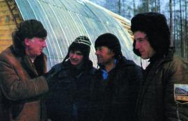 Первый слева Анзор Двалишвили