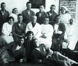 Группа врачей Иркутского военного госпиталя