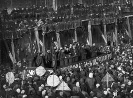 Митинг в Иркутске в День Победы