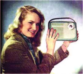 Радиоприемник «Сюрприз». 1957 г.