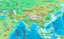 Государство киданей и сопредельные государства, 1025