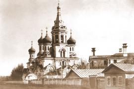 Монастырь св. Равноапостольного Князя Владимира. Открытка. XIX в.