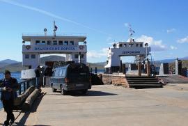 Паромная переправа «МРС – остров Ольхон»
