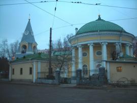 Троицкая церковь «Кулич и пасха», где был крещён Александр Васильевич Колчак