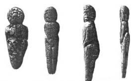 «Палеолитические Венеры», найденные в Мальте.
