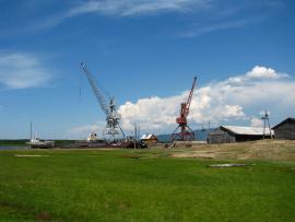 Порт Усть-Баргузин