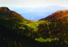 Перевал в долину р. Утулик
