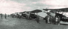 Стоянка самолетов Р-5