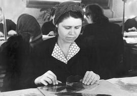 Кончина Анна Степановна – лучшая щипальщица слюдфабрики