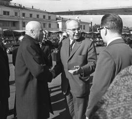 Президент Густав Гусак в Иркутске