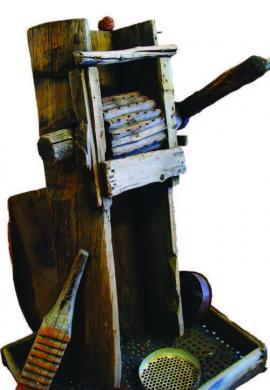 Барабан для обмолота кедровой шишки