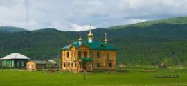 Строительство храма пророка Божия Илии