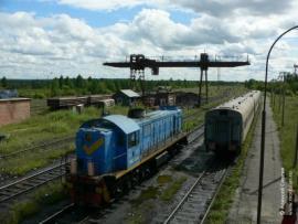 Одним из важных направлений в работе Азейского ОПТУ является работа по формированию и выдаче поездов отправительскими маршрутами.
