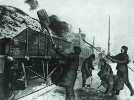Погрузка угля на станции Черемхово