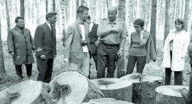 Фредерик Эбелин, директор королевского управления лесами в Ангарском лесхозе