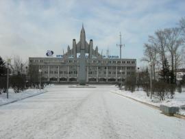 Проходная Иркутского авиационного завода