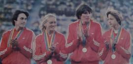«Золотая четверка»: Татьяна Пророченко, Татьяна Гойшик, Нина Зюськова и Ирина Назарова