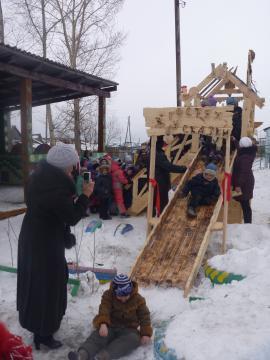 Зимние развлечения в Большой Елани