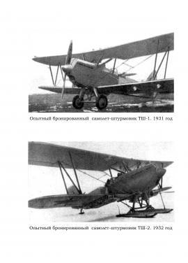 Самолет-штурмовик ТШ
