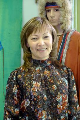Нина Глебовна Вейсалова активно помогает сохранению культуры коренных народов Сибири в родной Катанге и столице Приангарья