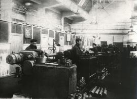 Заводской цех во время Великой Отечественной войны