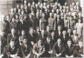 Участники конференции трудового коллектива. Омск, июнь 1959 г.