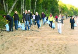 День Байкала–2008. Сборка мусора