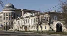 Здание в Иркутске на ул. Набережной (ныне бульвар Гагарина), где размещалось Главное управление Восточной Сибири