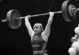 Многократная чемпионка Европы, чемпионка мира в супертяжелом весе