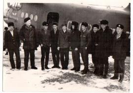 Аэропорт Усть-Кут. Служба ИАС. 1970 г.