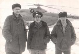 Аэропорт Усть-Кут 1965 г.