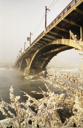 Глазковский мост. Современный вид. Фото Бориса Слепнёва