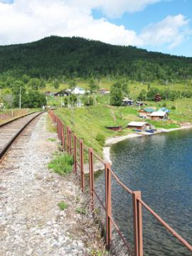 Old Angasolka is the village, the station Circum-Baikal Railway