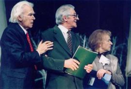 В.К. Венгер на сцене Иркутского драматического театра