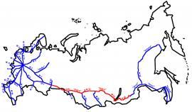 Федеральная автомобильная дорога М51, М53, М55 «Байкал»