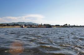 В посёлке Усть-Баргузин.