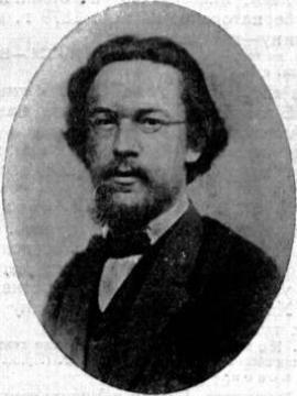 Н.А. Белоголовый в 1874 году