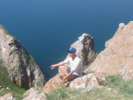 Медитация на мысе Саган-Хушун (Байкал).
