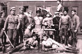 Пулемётная команда 235-го стрелкового полка 27-й стрелковой дивизии 5-й Армии РККА, 1919
